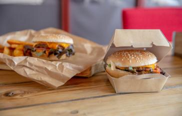 Hamburger Behälter