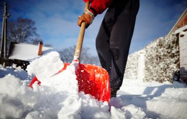Schnee- und Eisräumung